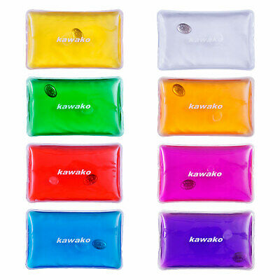 Pocket Warmer 8 Set Multicolor - Rectangle Mat - Hand Warmer Waermepad Firebag