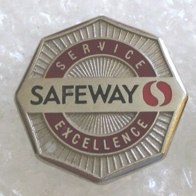 Vintage Safeway Supermarket Company-Service/Excellence Employee Pin
