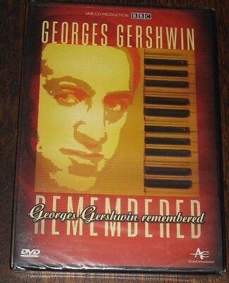 """New DVD Film - Documentaire """"GEORGES GERSHWIN"""" [NEUF SOUS CELLO!!]"""