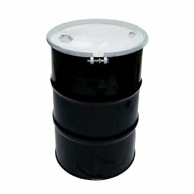 30 Gallon (NEW) Open Head UN Rated Steel Drum with Ring Lock Lid