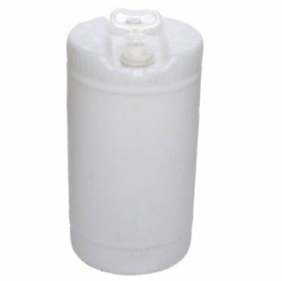 15 Gallon Closed-Head UN Rated Poly Drum with Screw Cap