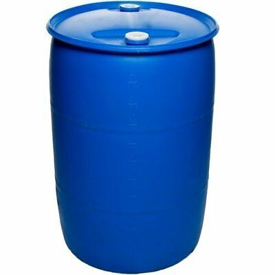 55 Gallon Closed-Head UN Rated Poly Drum with Screw Cap