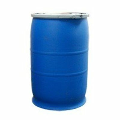 30 Gallon Open-Head UN Rated Poly Drum with Ring Lock Lid