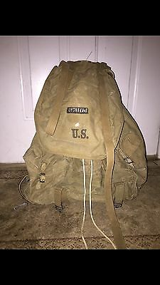 Original WW2 1942 US Military Mountain Backpack Metal Frame by POWERS & CO