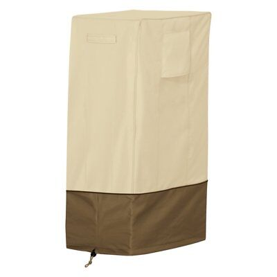 Classic Accessories Veranda Large Square Smoker Cover, Brown