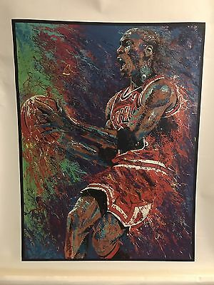 Michael Jordan Giclee By Bill Lopa