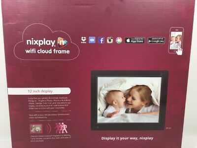 Nixplay Original 12 Inch WiFi Cloud Digital Photo Frame. iPhone & Android App