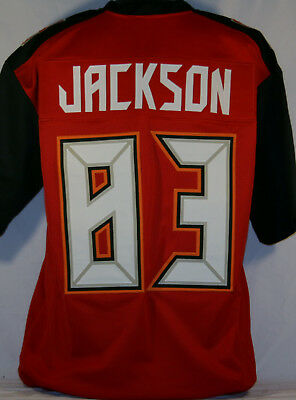 Vincent Jackson Unsigned Custom Sewn Red Football Jersey Size - L 34599bff0