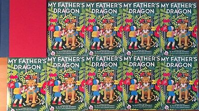 Lot of 10 - MY FATHER'S DRAGON - Ruth Stiles Gannett - Guided Reading Class Set