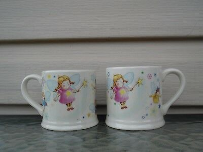 2 Child's Mugs/Cups Twinkle Twinkle Little Star 1890 Anderton Pottery England
