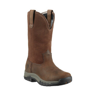 Ariat Women's   Terrain Pull-On H2O Distressed Brown Full Grain Leather Size 7.5