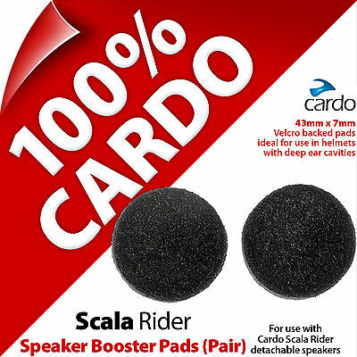 Cardo Scala Rider Pair Of Speaker Booster Pads Spacers for Detachable Speakers
