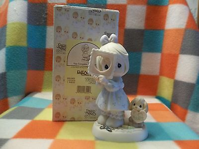 "Precious Moments Figurine ""You Complete My Heart"" 1999 #681067 W/Box"