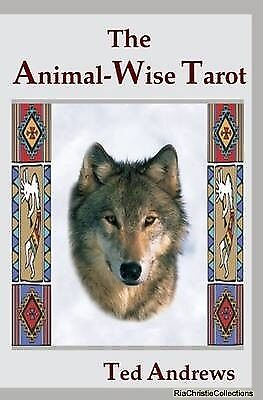 Animal-wise Tarot Ted Andrews Mixed media product NEW Book