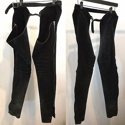 Vintage Suede Leather Chaps size XS