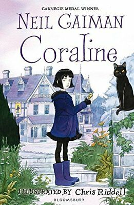 Coraline by Neil Gaiman New Paperback Book