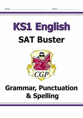 KS1 English SAT Buster: Grammar Punctuation & Sp by CGP Books New Paperback Book