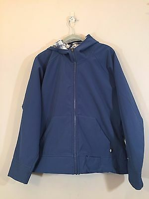 STORM By Dickies Men Size Large Slate Blue Reversible Hooded Jacket