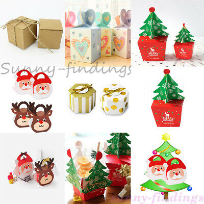 Wholesal Xmas Gift Wrapping Boxes Christmas Eve Apple Box Candy Boxes Party Box
