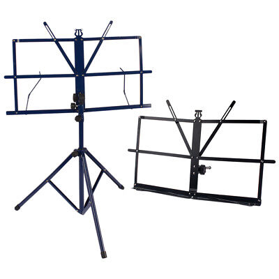 Sheet Folding Music Desktop Stand +Tripod Metal Music Stand Holder with Bag