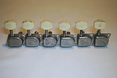1966 Fender Nickel-Plated F Tuners w/Plastic Tips
