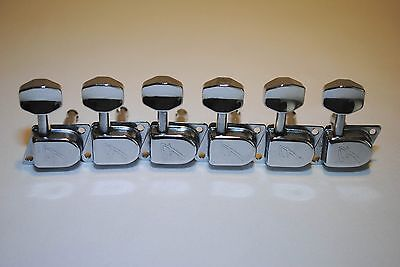 1970's Fender Chrome-Plated F Tuners By Schaller