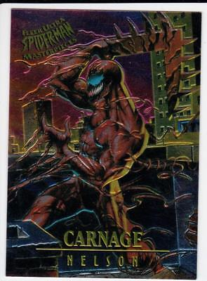 Marvel, Fleer Ultra Spider-Man Masterpieces Chase Card, CARNAGE, #2 of 9