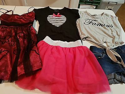 Girls Size 7 Summer Clothes, 5 items