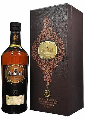 Glenfiddich 30 Year Old Single Malt Scotch Whisky 700mL bottle Speyside
