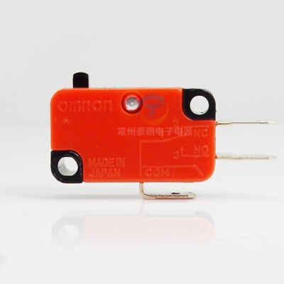 1x V-15-1C25 Microswitch without lever SPDT 15A/250VAC OMRON
