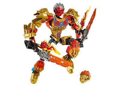 Biochemical Warrior Figures BionicleMask of Light Tahu Fire Building Block 9inch