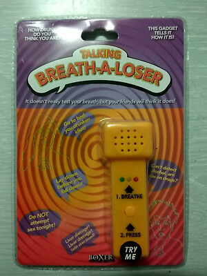 Talking Breath-A-Loser Funny Novelty Fake Breathalyser (Brand New)