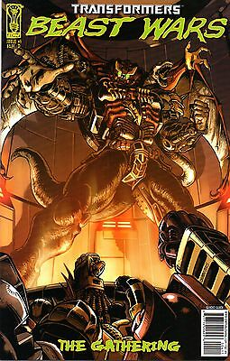 Transformers: Beast Wars: The Gathering Comic 4 Cover D IDW 2006