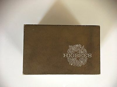 Vtg Higbee's Department Store Box (Box Only)