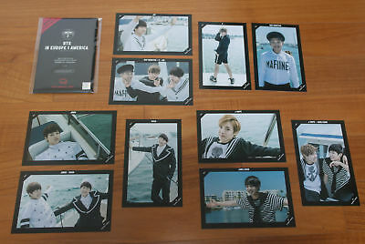 NOW2 BTS in Europe & America Special Photo PhotoCard (Pick 1)