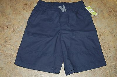 School Uniform SHORTS Fighter Pilot Blue Size M (8-10) Boys ELASTIC by Circo NWT