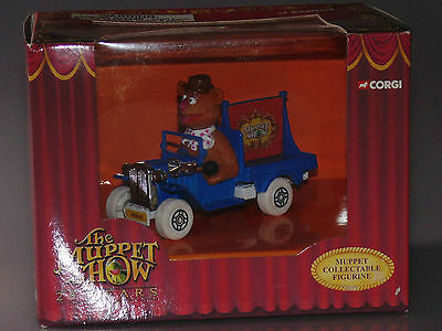The Muppet Show 25 Years Fozzie Bear car Muppets Collectable Figurine by Corgi