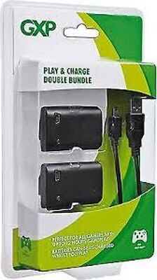 GXP Play & Charge Double Bundle FOR XBOX 360 GAME