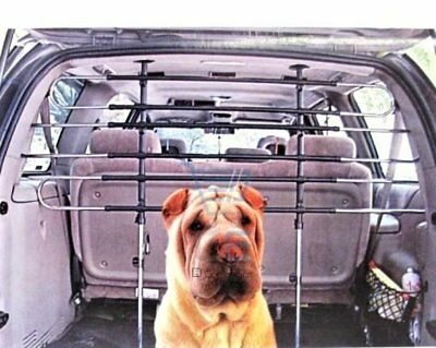 Large Universal Triple Row Car Van Pet Dog Cat Guard Safety Barrier Adjustable