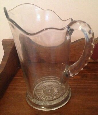 Vintage Beer Cocktail  Lemonade Pitcher