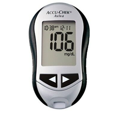 Accu-Chek Aviva Blood Glucose Meter/Monitor -  Single Unit Meter Only