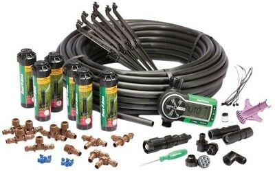 Rain Bird In-Ground Automatic Rotary Sprinklers Irrigation Easy Install System