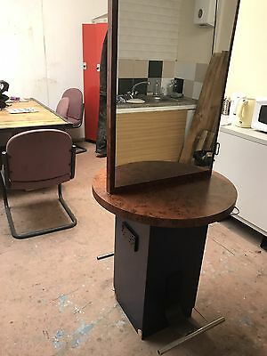 Hairdressers Mirror Workstation Twin/Double Sided Plug Sockets Many Available