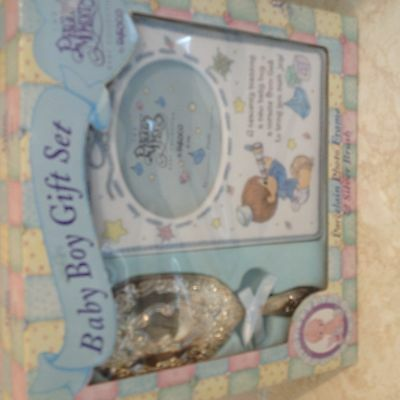 Precious Moments Heavenly Blessing Baby Boy Gift Set
