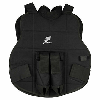 ProToyz Chest Protector 5 in 1 Black - Paintball