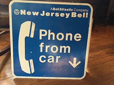 New Jersey Bell Phone Sign
