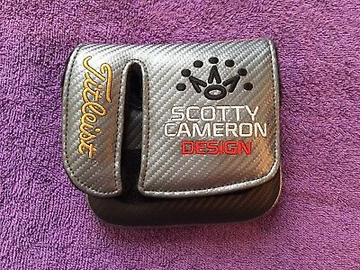 TITLEIST SCOTTY CAMERON Futura 6M Mallet Headcover Head Cover Excellent