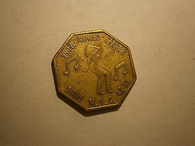"New York City Vintage Peep Show Token,. ""combined Shipping"""