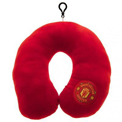Manchester United Neck Cushion (Official Club Merchandise) - Travel in Comfort!