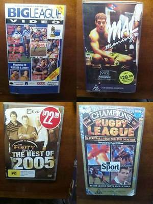Rugby League Vhs-Dvd